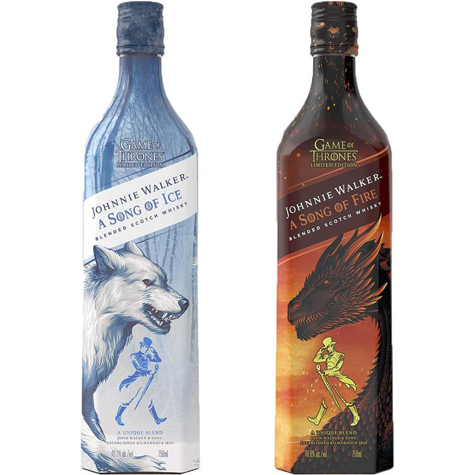 Johnnie Walker A Song of Fire & Ice