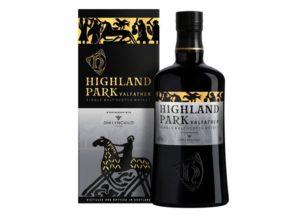 Nové whisky Highland Park Valfather