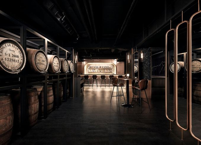 The Kavalan Whisky Bar