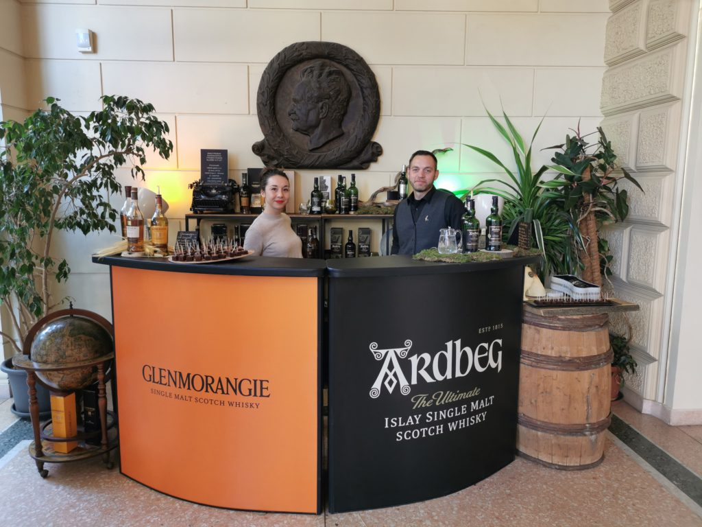 Moët Hennessy přivezli své whisky z palíren Glenmorangie a Ardbeg