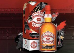 Nová whisky The Chivas 13 Manchester United