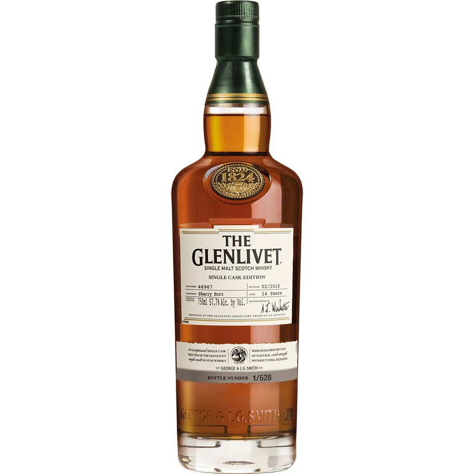 Nová whisky The Glenlivet Single Cask Edition 14 Year Old