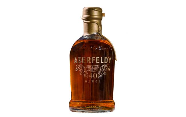 Nová whisky Aberfeldy 40 Year Old