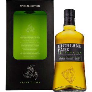 Nová whisky Highland Park Triskelion