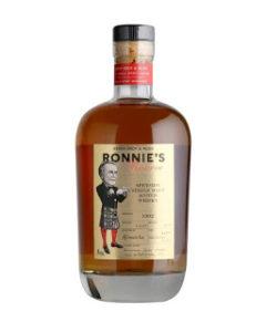 Nová whisky Ronnie's Reserve