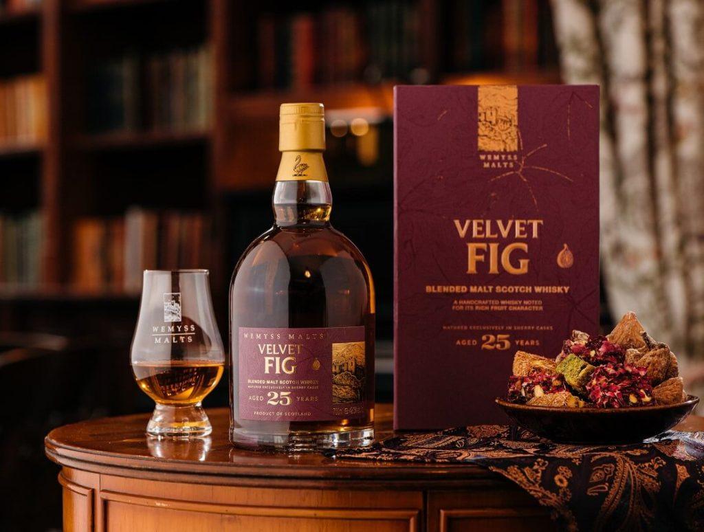 Nová whisky Velvet fig