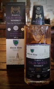 Svach's Old Well Whisky Green Rose