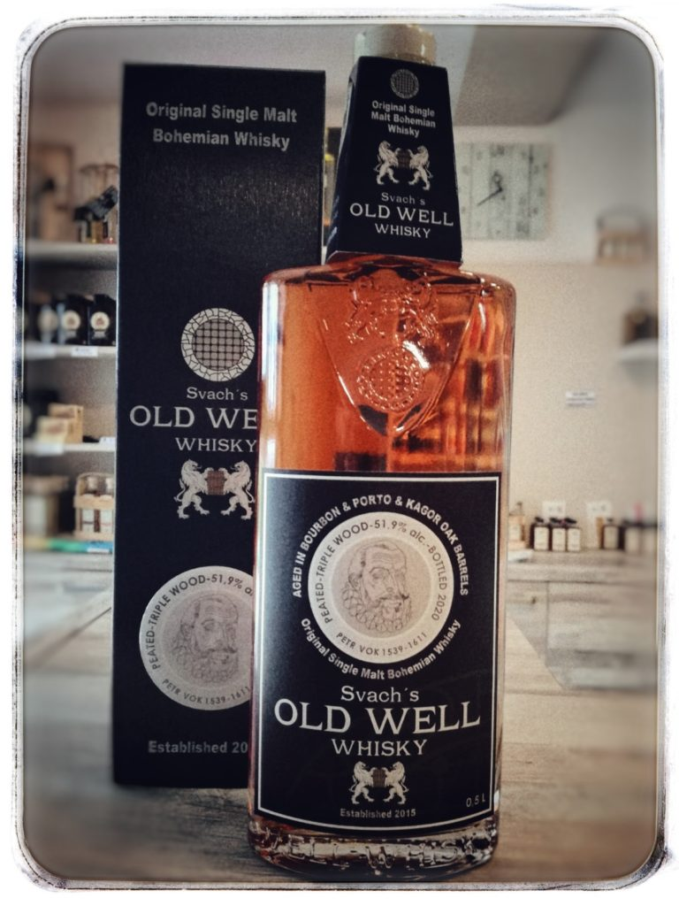 Recenze Svach's Old Well Whisky Petr Vok  Triple Wood