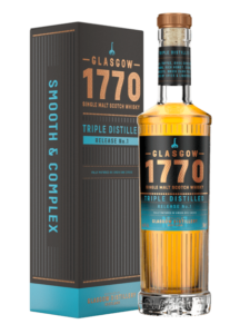 Nová whisky Glasgow 1770 Tripple Distilled