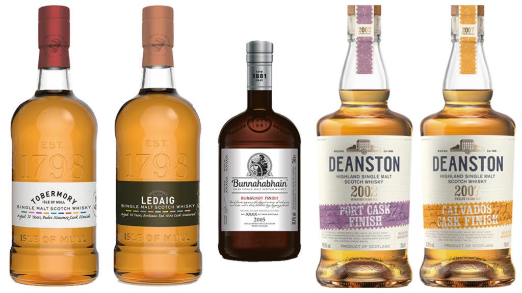 Nové whisky Tobermory, Ledaig, Bunnahabhain a Deanston