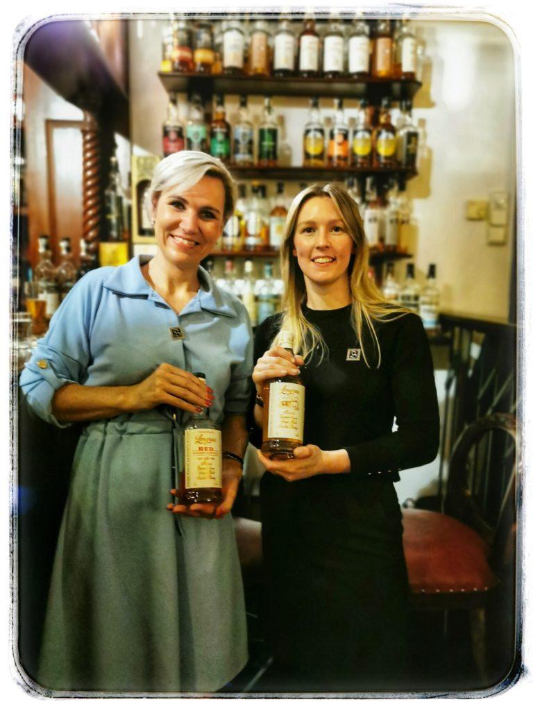 Degustace Mirka Kverková a Nicole Lindsay