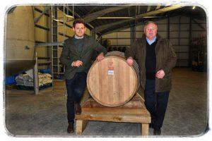 Spirit of Arran - první sud budoucí blended malt whisky