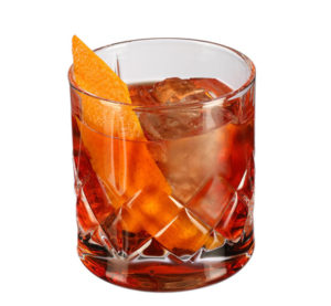 Whisky koktejly Boulevardier