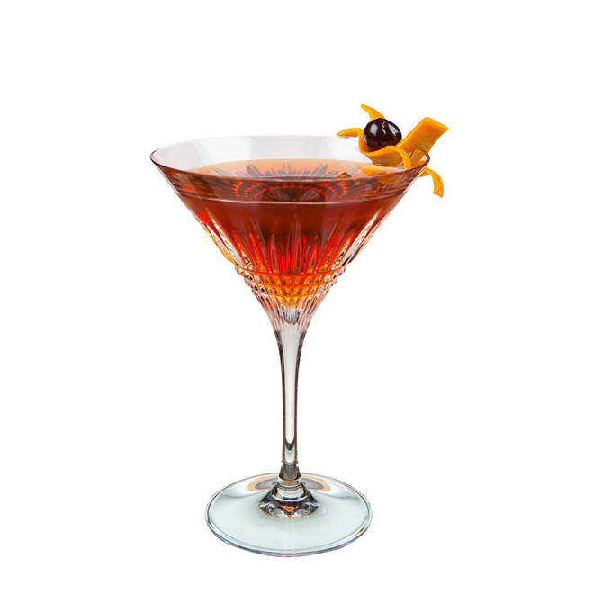 Whisky koktejly Manhattan