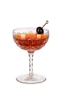 Whisky koktejly Rob Roy
