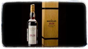 Rekordní aukce Macallan Fine & Rare