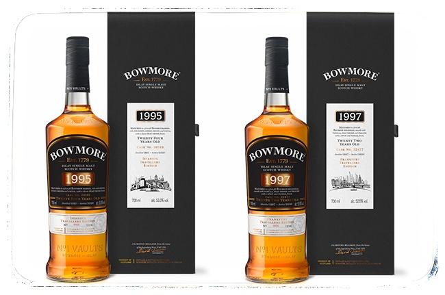 Bowmore 1997 a Bowmore 1995