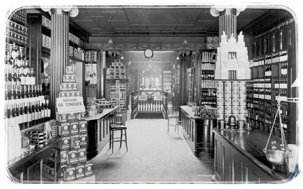 Obchod v Aberdeenu