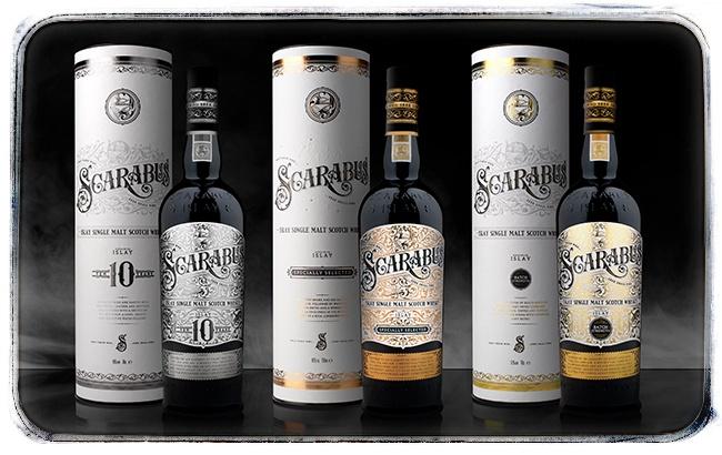 Nová whisky Scarabus