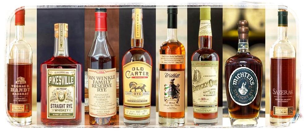 americká whiskey rye