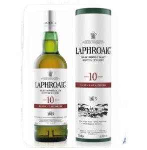 Recenze Laphroaig 10 Year Old Sherry Oak Finish