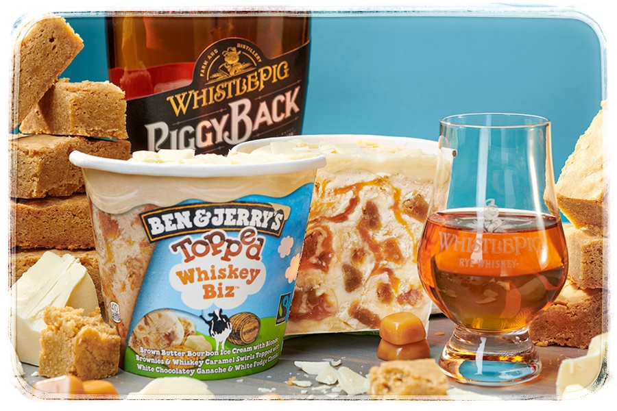 Ben & Jerry Whiskey Biz