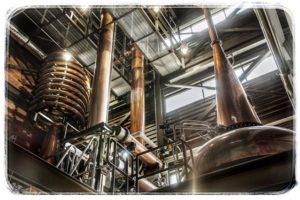 Palírna Balcones destilační kotle