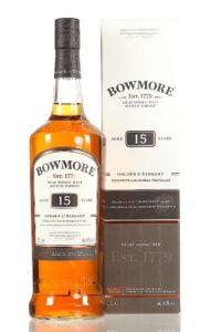 Recenze whisky Bowmore 15yo Golden & Elegant