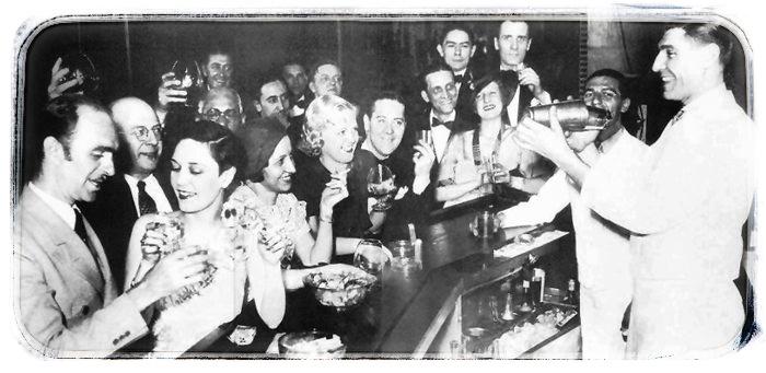 Prohibice speakeas bar