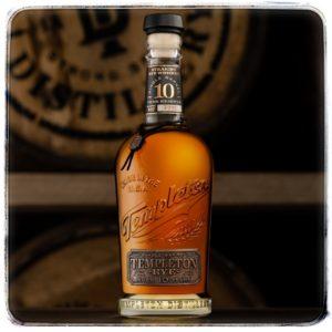 Templeton 10 Years Old Single Barrel Reserve Rye whiskey