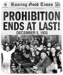 Prohibice konec