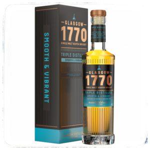 Glasgow 1770 Single Malt Triple Distilled – Smooth & Vibrant