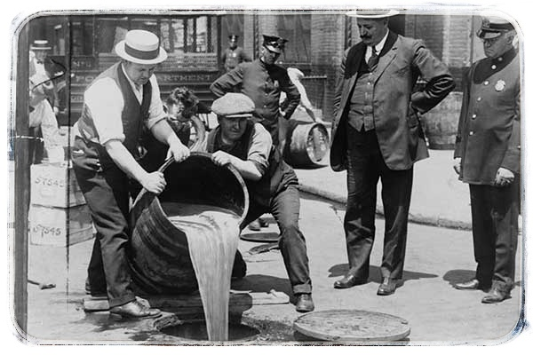irská whiskey prohibice